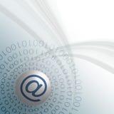 Έννοια ηλεκτρονικού ταχυδρομείου απεικόνιση αποθεμάτων