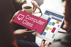 Έννοια ηλεκτρονικών συσκευών επιστήμης δικτύων κατηγορίας υπολογιστών Στοκ εικόνες με δικαίωμα ελεύθερης χρήσης