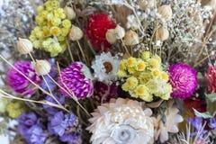 Έννοια θερινών ανθοδεσμών όμορφα λουλούδια Διακόσμηση λουλουδιών έννοια άνθισης Στοκ εικόνα με δικαίωμα ελεύθερης χρήσης