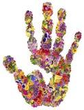 Έννοια θερινών χεριών ελεύθερη απεικόνιση δικαιώματος