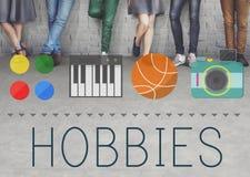 Έννοια διασκέδασης χόμπι τρόπου ζωής ελεύθερου χρόνου χόμπι στοκ εικόνες με δικαίωμα ελεύθερης χρήσης