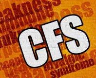 Έννοια ιατρικής: CCfs σε κίτρινο Brickwall ελεύθερη απεικόνιση δικαιώματος