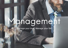 Έννοια διαδικασίας επιχειρησιακής στρατηγικής διοικητικής οργάνωσης Στοκ Εικόνα