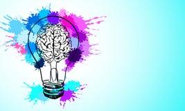 Έννοια ιδέας και δημιουργικότητας διανυσματική απεικόνιση