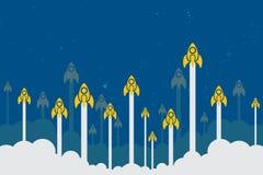 Έννοια ιδέας ίδρυσης επιχείρησης Στοκ εικόνα με δικαίωμα ελεύθερης χρήσης