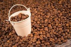 Έννοια κάδων καφέ στοκ εικόνα με δικαίωμα ελεύθερης χρήσης