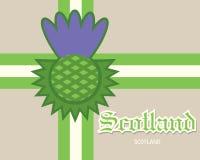 Έννοια καρτών της Σκωτίας Στοκ φωτογραφίες με δικαίωμα ελεύθερης χρήσης