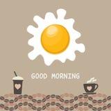 Έννοια καλημέρας Στοκ Εικόνες