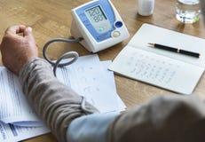 Έννοια κινδύνου για την υγεία ασφαλιστικών διαγνώσεων διαβεβαίωσης στοκ φωτογραφίες