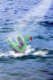 Έννοια κύκνων Origami στοκ φωτογραφίες με δικαίωμα ελεύθερης χρήσης