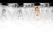 Έννοια λαμπών φωτός στοκ εικόνα με δικαίωμα ελεύθερης χρήσης