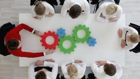 Έννοια λύσης επιχειρησιακού προβλήματος φιλμ μικρού μήκους