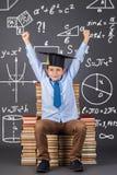 Έννοια μαθηματικών εκπαίδευσης Στοκ Εικόνα
