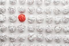 Έννοια μεγάλης ιδέας στον άσπρο πίνακα γραφείων Στοκ εικόνα με δικαίωμα ελεύθερης χρήσης
