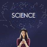 Έννοια μελέτης εκπαίδευσης χημείας αγρονομίας επιστήμης Στοκ Φωτογραφία