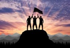 Έννοια μιας επιχειρησιακής ομάδας Στοκ εικόνα με δικαίωμα ελεύθερης χρήσης