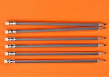 Έννοια μολυβιών αγάπης Στοκ Φωτογραφία