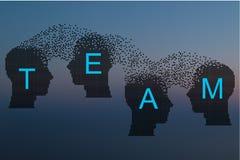 Έννοια να μαίνει εγκεφάλου Στοκ εικόνα με δικαίωμα ελεύθερης χρήσης