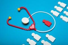 Έννοια Νοσοκομείων Παίδων, γιατρός παιδιάτρων στοκ εικόνες