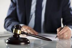 Έννοια νόμου και επιχειρήσεων Στοκ Εικόνες