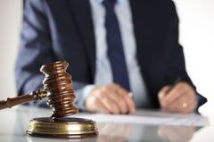 Έννοια νόμου και επιχειρήσεων Στοκ Φωτογραφίες