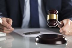 Έννοια νόμου και επιχειρήσεων Στοκ Φωτογραφία