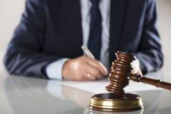 Έννοια νόμου και επιχειρήσεων Στοκ εικόνα με δικαίωμα ελεύθερης χρήσης