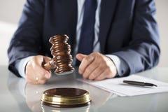 Έννοια νόμου και επιχειρήσεων Στοκ Εικόνα