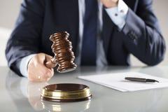 Έννοια νόμου και επιχειρήσεων Στοκ φωτογραφία με δικαίωμα ελεύθερης χρήσης