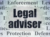 Έννοια νόμου: Νομικός σύμβουλος στο υπόβαθρο εγγράφου ψηφιακών στοιχείων ελεύθερη απεικόνιση δικαιώματος