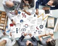 Έννοια ξεκινήματος ανάπτυξης επιχειρησιακού προγραμματισμού εταιρική Στοκ εικόνες με δικαίωμα ελεύθερης χρήσης