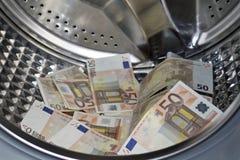 Έννοια ξεπλύματος χρημάτων Στοκ εικόνες με δικαίωμα ελεύθερης χρήσης