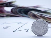 έννοια οικονομική Στοκ εικόνα με δικαίωμα ελεύθερης χρήσης