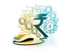 έννοια οικονομική Στοκ Εικόνες