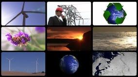 Έννοια οικολογίας απόθεμα βίντεο