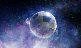 Έννοια παιχνιδιών ποδοσφαίρου Στοκ φωτογραφία με δικαίωμα ελεύθερης χρήσης