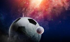 Έννοια παιχνιδιών ποδοσφαίρου Στοκ Φωτογραφία