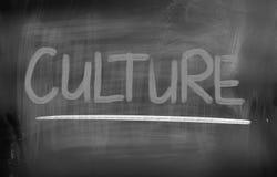 Έννοια πολιτισμού Στοκ Εικόνα