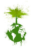 έννοια πράσινη Στοκ φωτογραφία με δικαίωμα ελεύθερης χρήσης