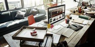 Έννοια προγραμματισμού διοίκησης επιχειρήσεων ξεκινήματος εργασιακών χώρων Στοκ φωτογραφία με δικαίωμα ελεύθερης χρήσης