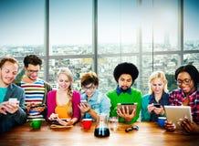 Έννοια προγραμματισμού συνεδρίασης της συζήτησης ομαδικής εργασίας ομάδας Στοκ φωτογραφία με δικαίωμα ελεύθερης χρήσης