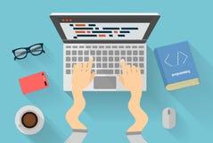 Έννοια προγραμματισμού Python Στοκ Εικόνες