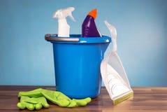 Έννοια προϊόντων καθαρισμού Στοκ φωτογραφίες με δικαίωμα ελεύθερης χρήσης