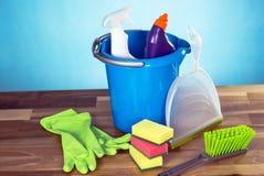 Έννοια προϊόντων καθαρισμού Στοκ φωτογραφία με δικαίωμα ελεύθερης χρήσης
