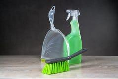 Έννοια προϊόντων καθαρισμού Στοκ Εικόνα