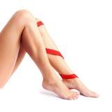 Έννοια πόνου ποδιών Στοκ φωτογραφία με δικαίωμα ελεύθερης χρήσης