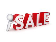 Έννοια πώλησης. ελεύθερη απεικόνιση δικαιώματος