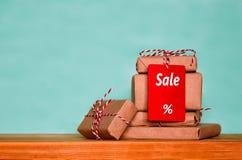 Έννοια πώλησης χειμερινών διακοπών Στοκ Εικόνες