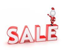 Έννοια πώλησης Χριστουγέννων. διανυσματική απεικόνιση