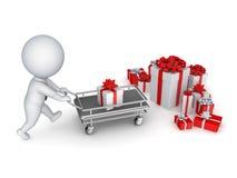 Έννοια πώλησης Χριστουγέννων. Στοκ εικόνα με δικαίωμα ελεύθερης χρήσης